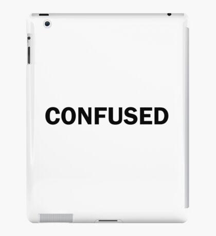 Confused Funny Bold Cute iPad Case/Skin