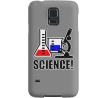Excitement for Science! Samsung Galaxy Case/Skin