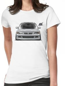 naquash design honda accord coupe v6 Womens Fitted T-Shirt