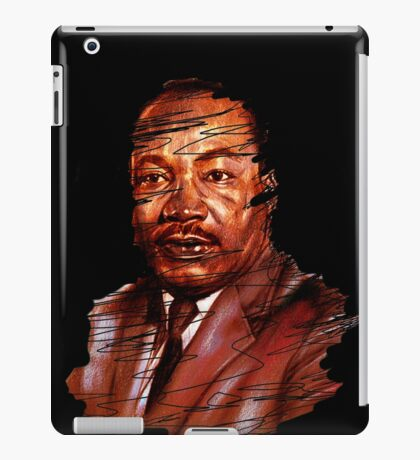 Martin Luther King Jr. The RED iPad Case/Skin