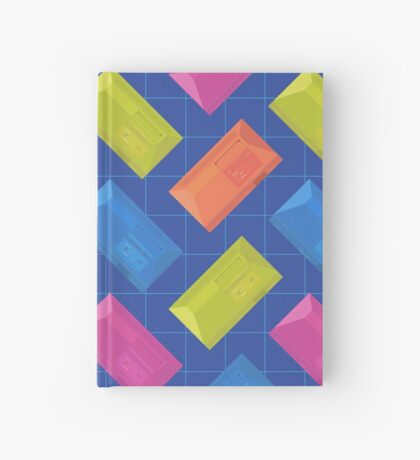 Master System Neon (blue) Hardcover Journal