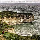 Chalk Cliffs at Flamborough Head by Tom Gomez