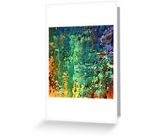 Contemporary landscape by rafi talby   Greeting Card