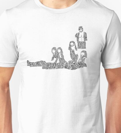 Fleetwood Mac - Rumours // Typographical Ilustration Unisex T-Shirt