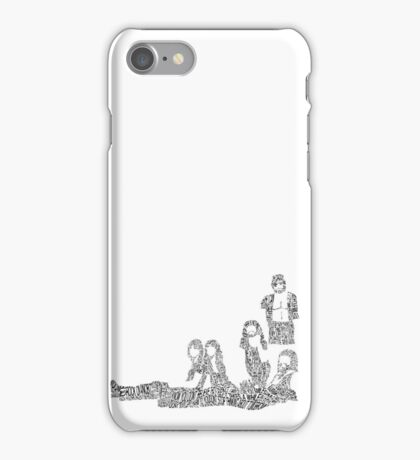 Fleetwood Mac - Rumours // Typographical Ilustration iPhone Case/Skin