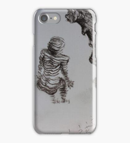 sketch book ginger body iPhone Case/Skin