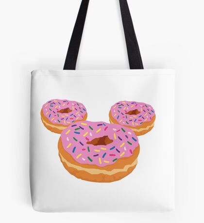 Mouse Donut Tote Bag