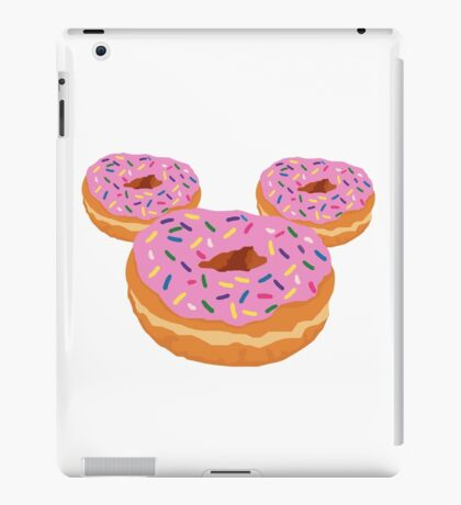 Mouse Donut iPad Case/Skin