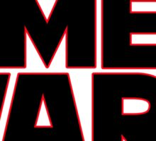 SMEG WARS [RED DWARF] Sticker