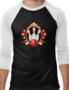 Bowling Men's Baseball ¾ T-Shirt