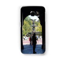 Bethesda Fountain, Central Park, New York City Samsung Galaxy Case/Skin