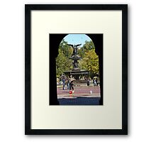 Bethesda Fountain, Central Park, New York City Framed Print