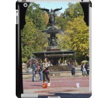 Bethesda Fountain, Central Park, New York City iPad Case/Skin