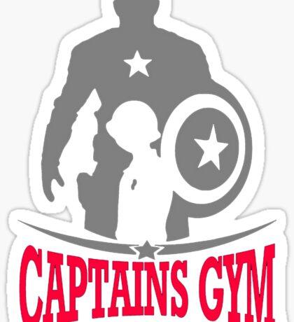 Captains Gym Sticker