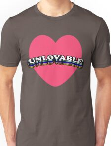 UNLOVABLE | TRENDY AESTHETICS TEXT ONLY GRAPHIC TEE Unisex T-Shirt