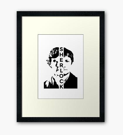 Sherlock and Watson - Partners Framed Print