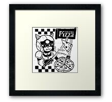 Cerviches Pizza Framed Print