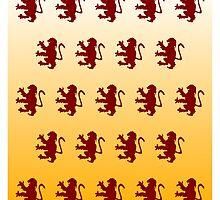 Harry Potter Gryffindor Pattern by Superbubble