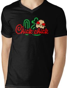 Chick Chick Mens V-Neck T-Shirt
