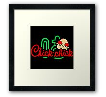 Chick Chick Framed Print