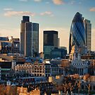London City Of Contrasts by Lois  Bryan