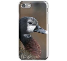 White Headed Whistling Duck iPhone Case/Skin