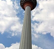 The KL Tower - Kuala Lumpur, Malaysia. by Tiffany Lenoir