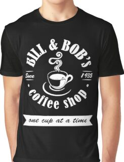 Coffee Shop Graphic T-Shirt