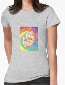 tie dye peace emoji T-Shirt