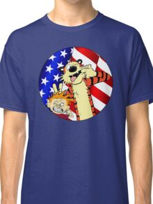 Calvin and hobbes america Classic T-Shirt