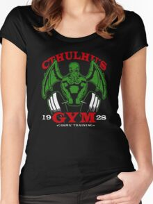 Cthulhus Gym Women's Fitted Scoop T-Shirt