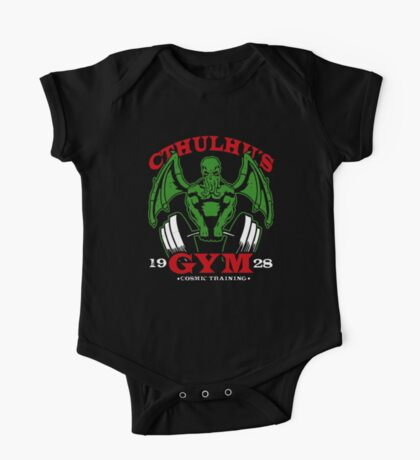 Cthulhus Gym One Piece - Short Sleeve