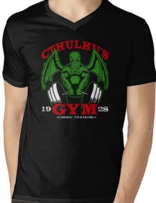 Cthulhus Gym Mens V-Neck T-Shirt