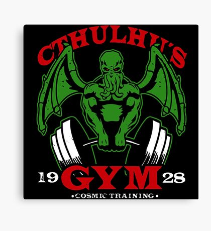 Cthulhus Gym Canvas Print