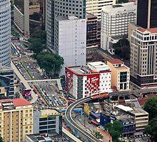 Above the City - Kuala Lumpur, Malaysia. by Tiffany Lenoir