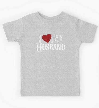 i love my husband Kids Tee