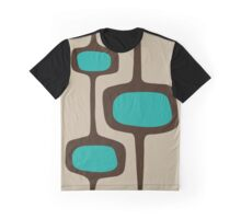Mid Century Modern - Atomic Graphic T-Shirt