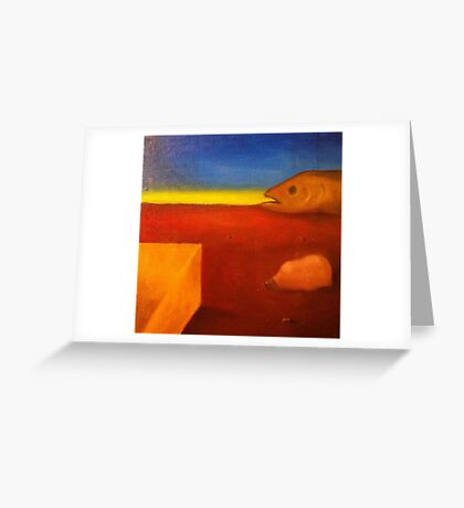 How Many Surrealists? Number 2 Greeting Card