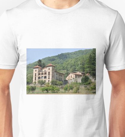 mansion on the mountain Unisex T-Shirt
