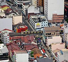 Above the City III - Kuala Lumpur, Malaysia. by Tiffany Lenoir