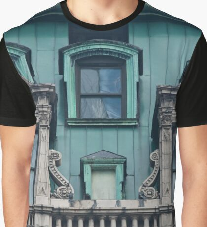 Copper Roof - Windows | New York City, New York Graphic T-Shirt