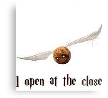 i open at close Metal Print