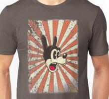 Retro vintage cartoon comic toon surprised dog Unisex T-Shirt