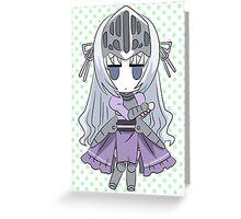 Eucliwood Hellscythe - Kore wa Zombie Desu ka? Greeting Card