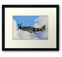 P-51D Mustang 44-72035 G-SIJJ Jumpin'-Jacques Framed Print