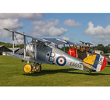 TVAL Sopwith 7F.1 Snipe replica E6655 Photographic Print
