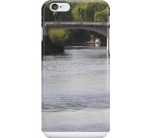 River at Chinon, Loire Valley, France iPhone Case/Skin