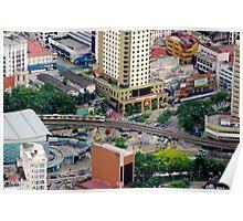 Above the City VI - Kuala Lumpur, Malaysia. Poster