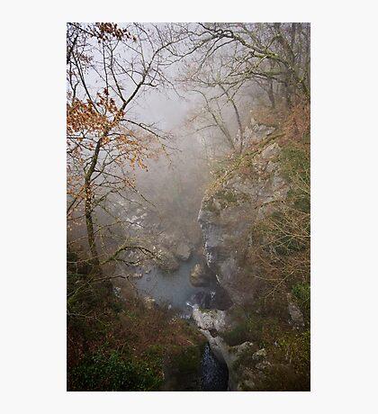 Fog on Barbennaz Photographic Print