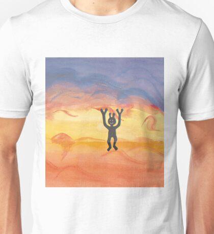 Joyful Alien Unisex T-Shirt